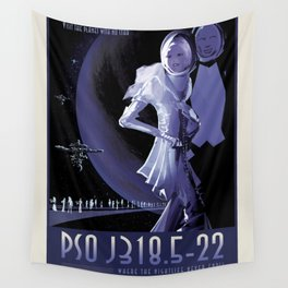 NASA Visions of the Future - PSO J318.5-22, Where the Nightlife Never Ends! Wall Tapestry