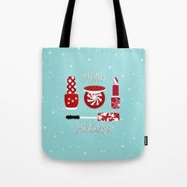 Super Cute Makeup Holiday Design Tote Bag