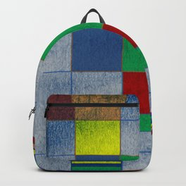 Mid-Century Modern Art - Rainbow Pride 1.0 Backpack