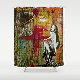 Detached Shower Curtain