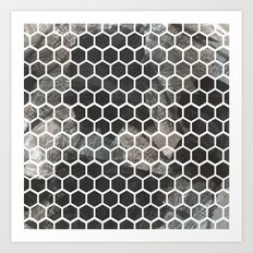 Graphic_Cells Paint Art Print