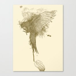 Make Fine Bird Canvas Print