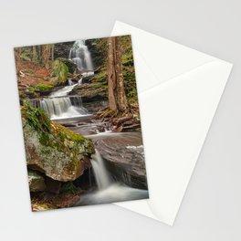Ricketts Glen Waterfall Layers Stationery Cards