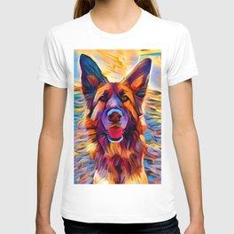 German Shepherd 8 T-shirt