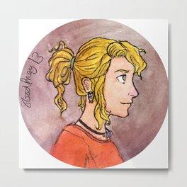 Daughter of Athena Metal Print