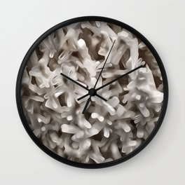 Celestite Frost Wall Clock