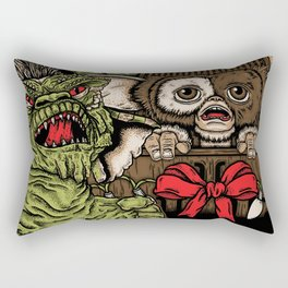 Never Feed Them After Midnight Rectangular Pillow