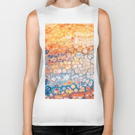 The Bright Side #abstract #digitalart Biker Tank