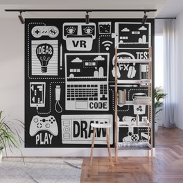 It's a Game Dev World Wall Mural