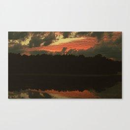 Fiery Skies Canvas Print