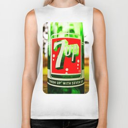 Classic 7 Up bottle Biker Tank