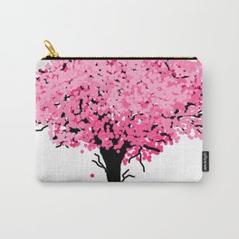Sakura Tree Carry-All Pouch