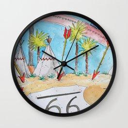 Six Flags Dubai - American Revolution - Route 66 Wall Clock