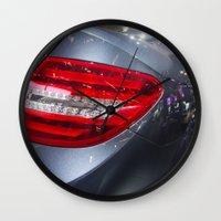 mercedes Wall Clocks featuring Mercedes-Benz C 180 Coupé Sport by Mauricio Santana