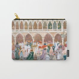Sunlight on the Piazzetta by Maurice Prendergast Carry-All Pouch