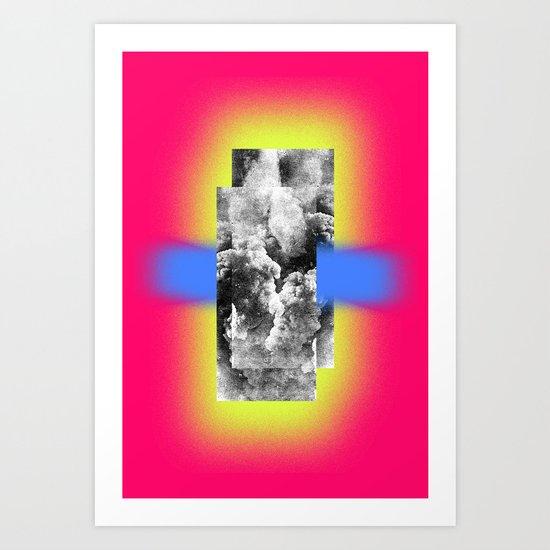 Binding of the elements Art Print