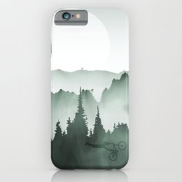 MTB Landscpae iPhone Case