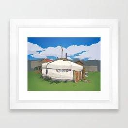 Summertime Ger Framed Art Print