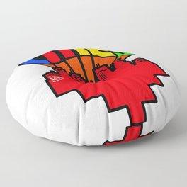 #heArtoftheCities Floor Pillow