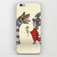 Lydia and the Sandworm iPhone & iPod Skin
