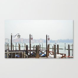 blurring day Canvas Print