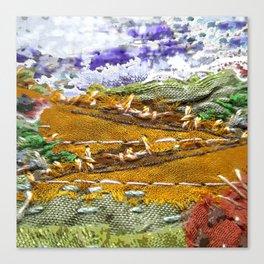 Honey fields dreamscape Canvas Print