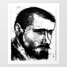 Portait2 Art Print
