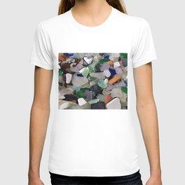 Sea Glass Assortment 6 T-shirt
