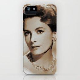 Hollywood Classics, Deborah Kerr, Actress iPhone Case