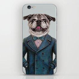 dog portrait iPhone Skin