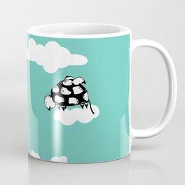 Flying Turtle by McKenna Sanderson Coffee Mug
