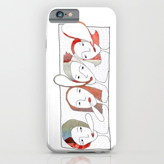 Le Quattro Grazie iPhone & iPod Case