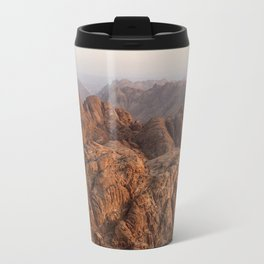 The view from Moses mountain. Sinai. Travel Mug