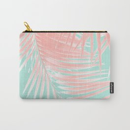 Palm Leaves Summer Vibes #9 #tropical #decor #art #society6 Carry-All Pouch