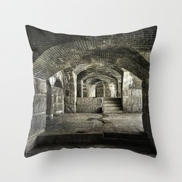 Casemate Carriage Throw Pillow