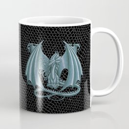 """Dragon Letter M, from """"Dracoserific"""", a font full of Dragons Coffee Mug"""