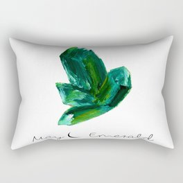 may emerald Rectangular Pillow