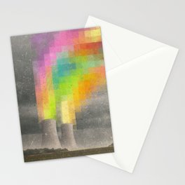 Atomic Peace Stationery Cards