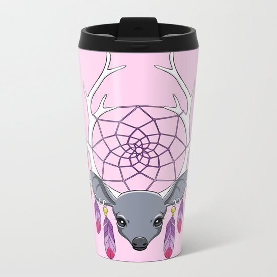 Dreamcatcher Metal Travel Mug