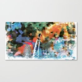 Flyboard  Canvas Print