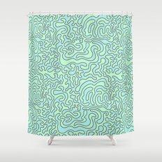 Wacky Pattern Shower Curtain