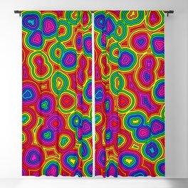 Acid Rain Puddle Ripples Blackout Curtain