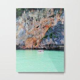 Nature Paint Metal Print