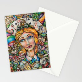 Curiouser and Curiouser Stationery Cards