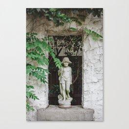 Boy Statue Canvas Print