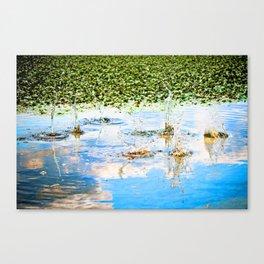Splash the Clouds Canvas Print