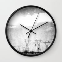 arizona Wall Clocks featuring Arizona by Whitney Retter