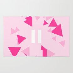 Opposite III Pause Pink Rug