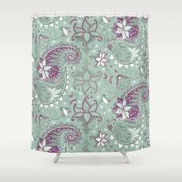 Filigreed Shower Curtain