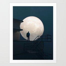 Up all night Art Print